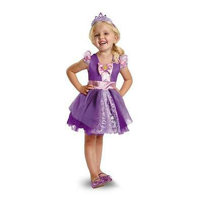 NEW DISNEY PRINCESS TANGLED RAPUNZEL HALLOWEEN Costume Toddler Girls 3T-4T  sc 1 st  PicClick : tangled halloween costume  - Germanpascual.Com