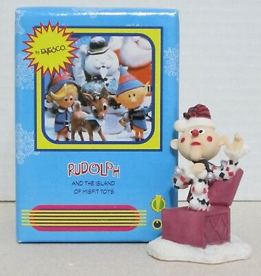 Enesco Rudolph And The Island Of Misfit Toys - Charlie In The Box Figurine