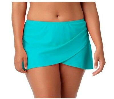 Catalina Hot Teal Women's Swim Bottom Skirted 2X (18W-20W) New with tags!