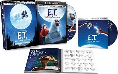 E.T.: The Extra-Terrestrial (Limited Edition)(4K Ultra HD)(UHD)(DTS:X)