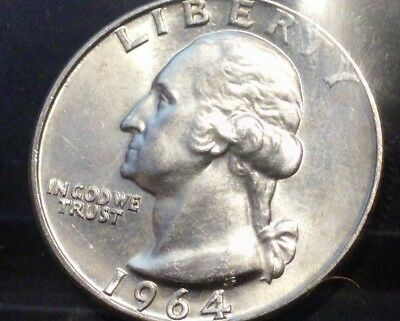 1964 90% Silver Washington Quarter (PRICED TO SELL!!)