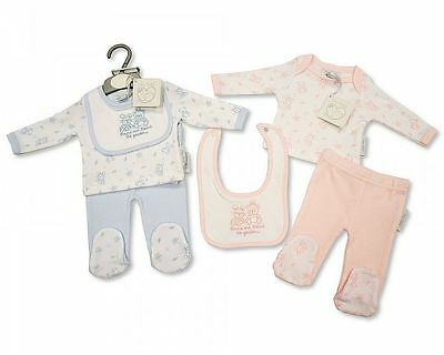 BNWT Baby reborn Premature Preemie Baby Boys or Girls Clothes 3 Piece outfit Set