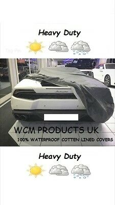 BMW X6 (2008 on) HEAVY DUTY FULLY WATERPROOF CAR COVER COTTON LINED