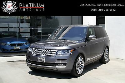 Range Rover Supercharged  *** LOW MILES *** Gray Land Rover Range Rover with 14,245 Miles available now!