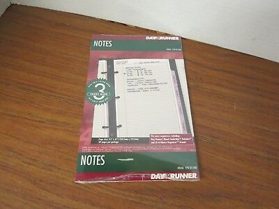 Day Runner Undated Planner Notes Refill, 5.5 x 8.5 Inches 011-200 30pages