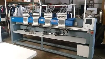 ZSK 4 Head Embroidery Machine