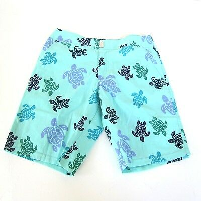 0018c76916 J-3277120 NEW VILEBREQUIN Sea Turtles Swimming Trunks Shorts Size S ...