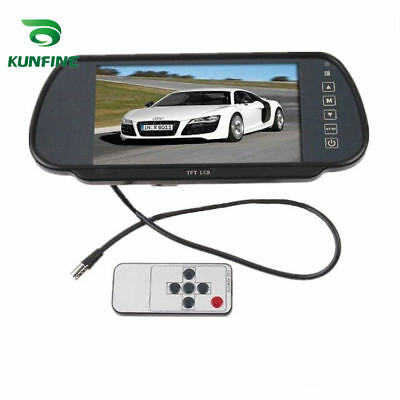 "7"" LCD TFT Screen Car Rear View Backup Mirror Monitor Display for Reverse Camera"