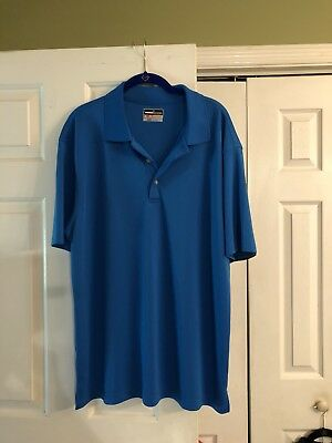 1f1ec852e KOHLS GRAND SLAM Blue XL Golf Polo Style Shirt, EUC - $5.99 | PicClick