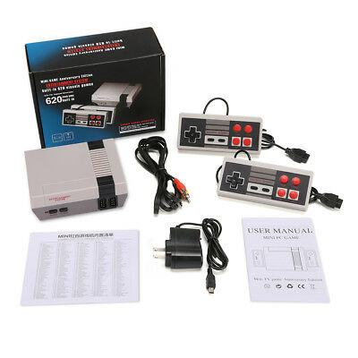 Classic Edition Video Games Console TV FC Game Player 620 Games + 2 Controllers