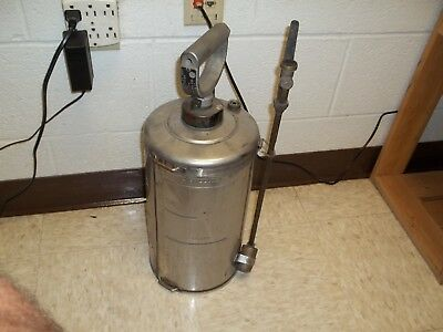Vintage H. D. Hudson Manufacturing Insecticide Sprayer  U.s Army Issued