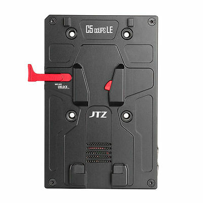 JTZ DP30 C5 CCUPS LE V-Mount V-Lock Power Supply BP Battery Plate For Canon Sony