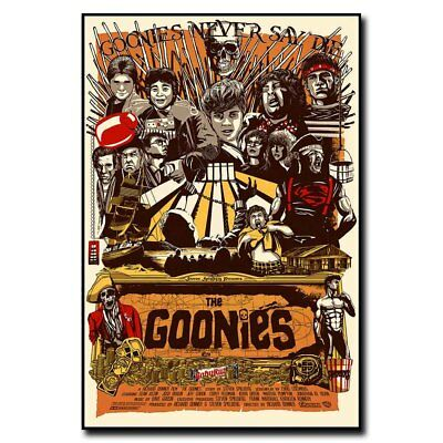 The Goonies 12x18inch 80s Classic Movie Silk Poster Art Print Hot Cool Gifts