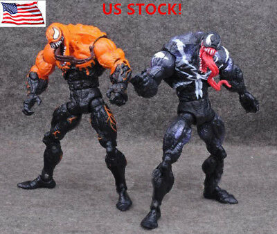 """USA Marvel Univers Spider-Man Venom PVC Action Figure Collectible 6"""" Toy Gift"""