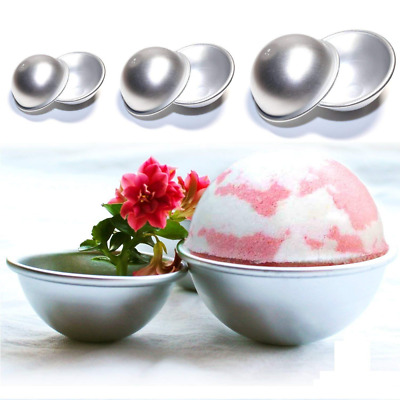 plastic acrylic mold ball heart bath bomb moulds egg choose shape/&siz Lh