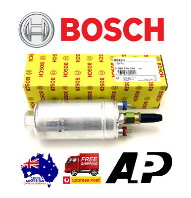 2X Genuine Bosch 044 Racing External Fuel Pump E85 Universal With Bosch Hologram