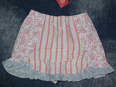 """GYMBOREE """"Love Is In The Air"""" Patchwork Skirt Skort Size 3~ NEW!"""