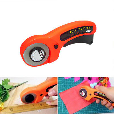 New 45mm Rotary Cutter Premium Quilter Quilting Sewing Fabric Cutting Craft Tool