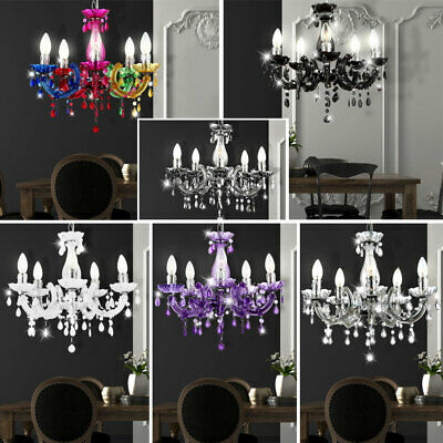 Chandelier Pendant Lamp Ceiling Light Hanging 5 Colors Choice