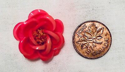 Antique 5 Rosebud Buttons- Very Old & Rare
