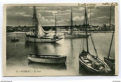 CPA-Carte postale - France - Morgat - Le Port - 1927 ( CP4060 )