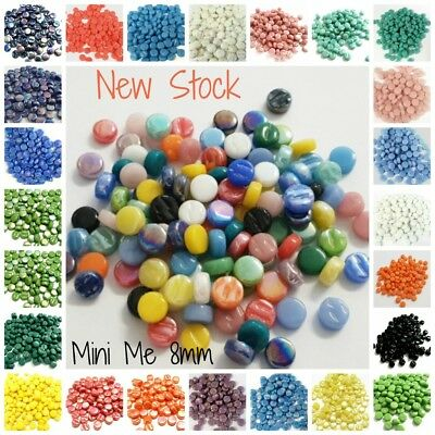 Glass Mini Me's - 8mm - 50 grams - Choose your Colour