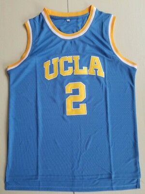 d06f6efccf6 Mens Lonzo Ball #2 UCLA College Basketball Jersey Throwback Stitched Blue