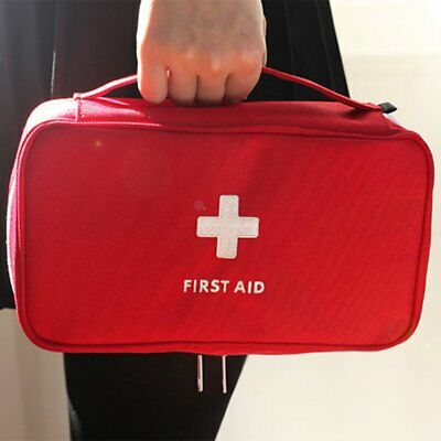 Portable Medicine Bag Multi-Layer First Aid Kit Outdoor Travel Rescue Bag AZ