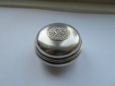 Antique / Vintage Solid Silver Box MA900 Egypt Egyptian