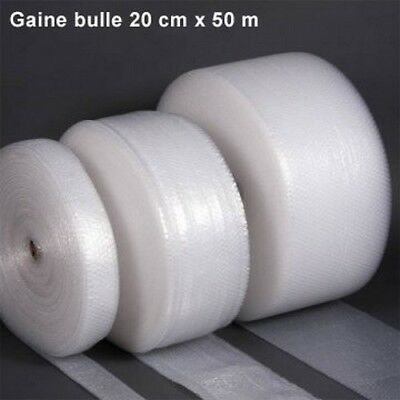 Gaine bulle d'air 20cm x 50m - Lot de 6