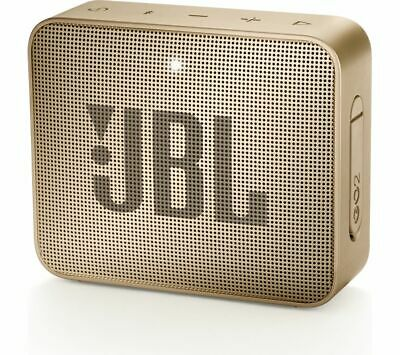 JBL GO2 Portable Bluetooth Speaker - Gold - Currys