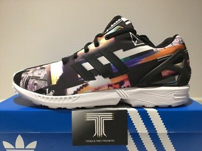c88b89e8b Adidas ZX Flux ~ M19844 ~ City Scape Graphics Limited Edition ~ Uk Size 12
