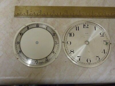 2 Useful Old Clock Dials (2D)