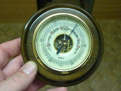 Nice Little Wall Hung Barometer - Working Fine (Mn)