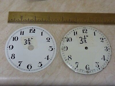 2  French Clock  Dials  (F)