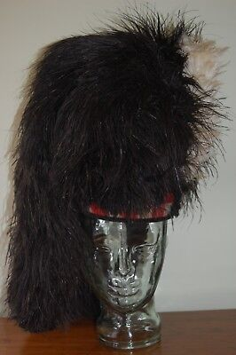 Seaforth Highlanders Scottish Feather Bonnet