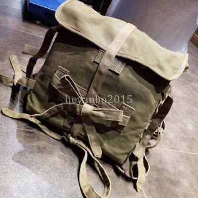 Wwii Japanese Army M1940 Backpack Sack Bag Japan Type Canvas Bag