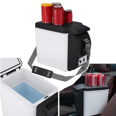 6l 12v Mini Portable Home Car Fridge Electric Cooler and Warmer for Travel Camp~