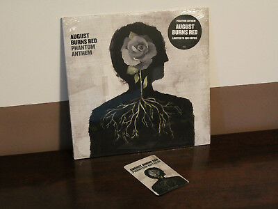 August Burns Red ‎– Phantom Anthem Vinyl LP Swamp Green w Black Haze 1 of 300 !!