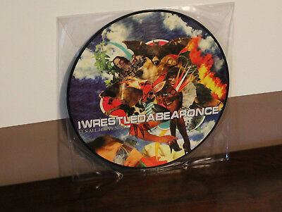 Iwrestledabearonce ‎– It's All Happening Vinyl LP Picture Disc NEU!