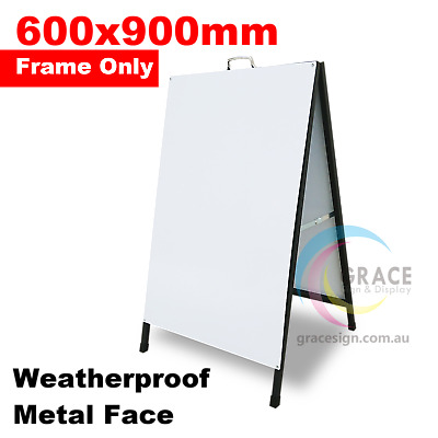 A Frame Sign (Sandwich Board) Metal Face 600X900mm (Frame Only)