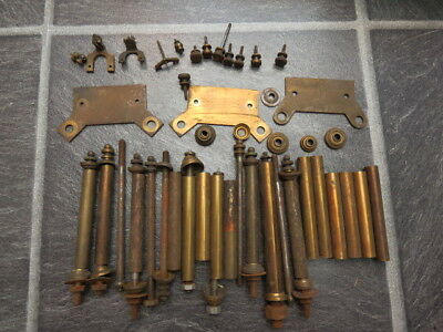 Collection Of Anniversary Torsion Clock Parts For Spares Repair