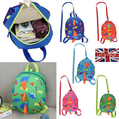 Kids Toddler Walking Safety Harness Backpack Security Strap Bag with Reins Cute