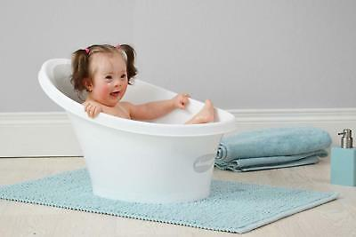 Shnuggle Cosy Baby Bath Tub with Bum Bump Support and Foam Backrest Pink