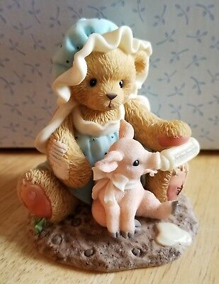 NEW Cherished Teddies - Marsha And Pinky - 847356 - Hogs And Kisses