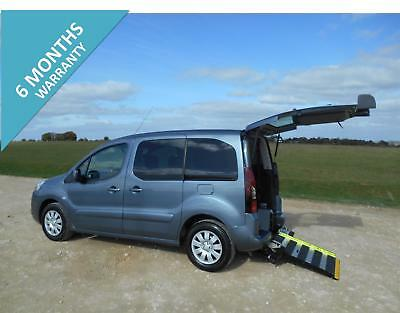 2012  Peugeot Partner Tepee  5 Seat Automatic Wheelchair Accessible Disabled Car