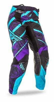 Pink//Purple FLY RACING MX Motocross MTB Womens 2017 Kinetic Race Pants US 5//6
