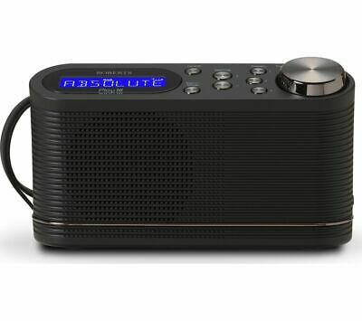 ROBERTS PLAY10 Portable DAB+/FM Radio - Black - Currys