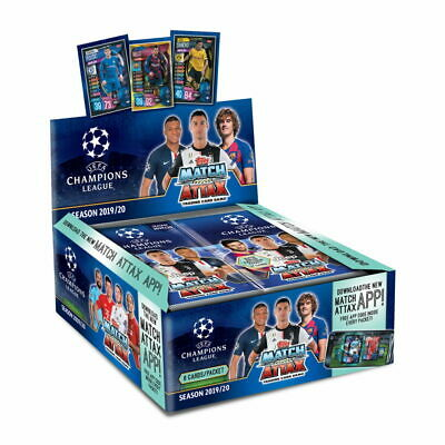 Box Topps Match Attax Champions League 2019 / 2020 Display / 30 Booster 19/20