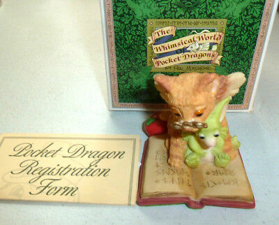"""Whimsical World Of Pocket Dragons """"The Teacher"""" c.1997 Real Musgrave"""